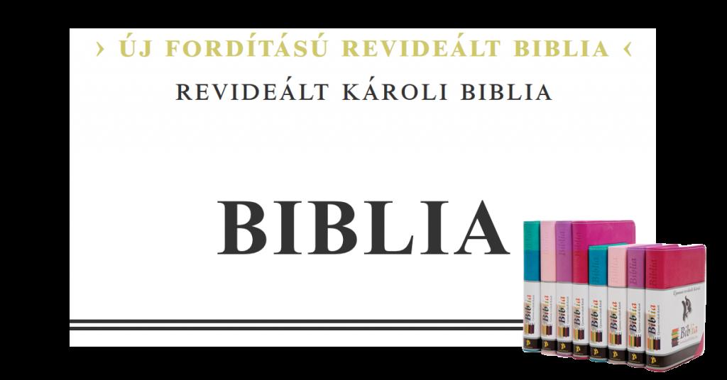 Új fordítású revidiált biblia