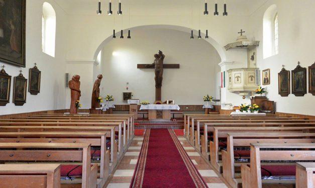 Húsvét III. vasárnap, előesti szentmise