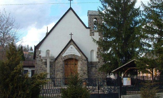 Húsvét II. vasárnapja, előesti szentmise a Verőcei kápolnából