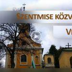 Évközi II. vasárnap szentmise – Verőce  január 17.