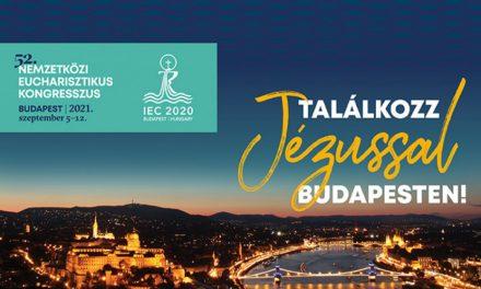 52. Nemzetközi Eucharisztikus Kongresszus Budapest, 2021. szeptember 5-12.